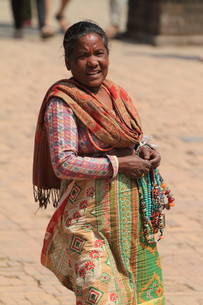 woman from nepalの素材 [FYI00680250]