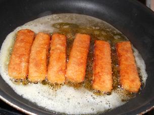 fish sticksの写真素材 [FYI00680928]