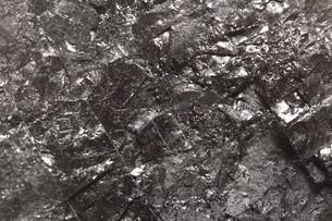 black bituminous coal,carbon nugget backgroundの写真素材 [FYI00681934]