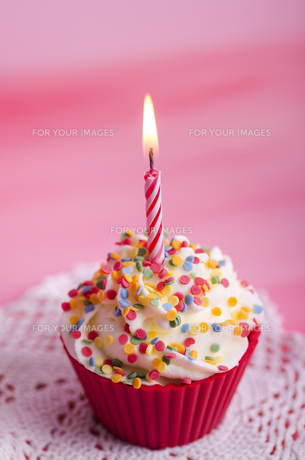 cupcake,birthday,muffinの写真素材 [FYI00682494]