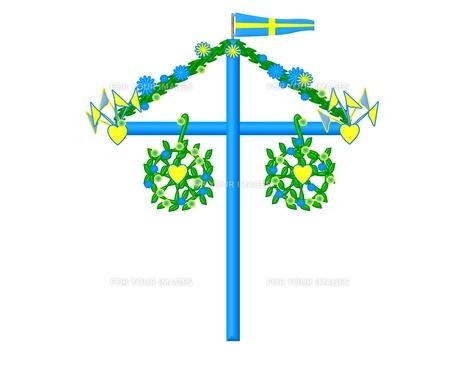 midsummer symbol swedenの素材 [FYI00682671]