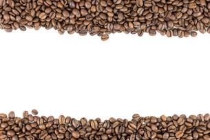 coffee beans stripesの写真素材 [FYI00683222]