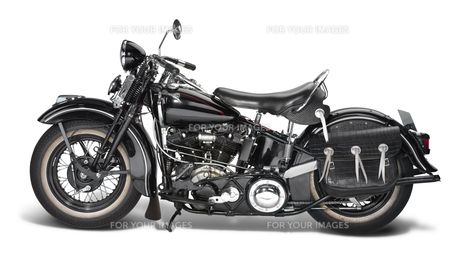 vintage motorbikeの写真素材 [FYI00683257]