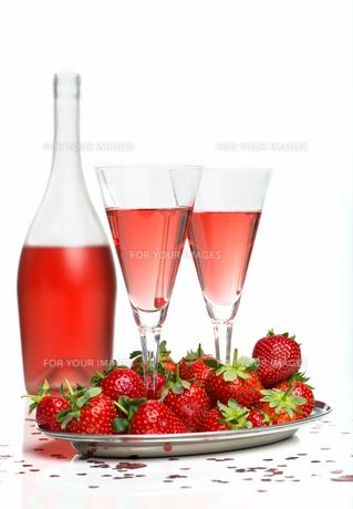 champagne breakfastの素材 [FYI00683406]