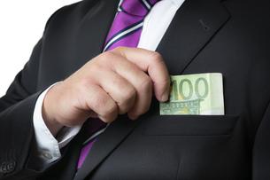 briberyの写真素材 [FYI00684006]