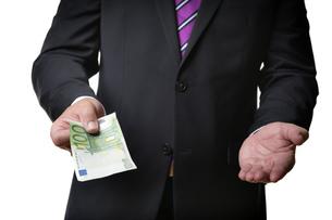 briberyの写真素材 [FYI00684009]