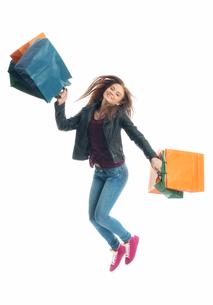 girl on a spending spreeの写真素材 [FYI00684092]