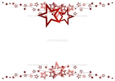 red star frameの素材 [FYI00684801]