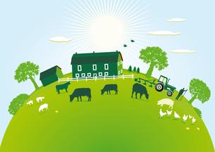 green farmの写真素材 [FYI00685364]
