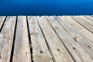 age jetty woodenの写真素材 [FYI00685862]