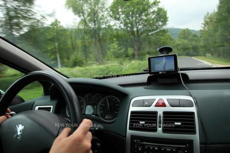 car satelite navigation system gps deviceの写真素材 [FYI00686027]