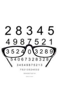visual acuityの写真素材 [FYI00686115]
