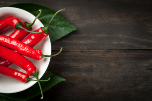 chili peppersの写真素材 [FYI00686572]