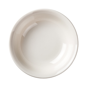 white plate isolated on white background. top viewの写真素材 [FYI00686634]