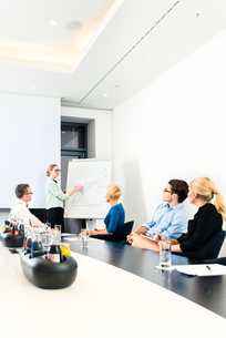 business - presentation within a teamの写真素材 [FYI00686847]