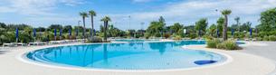 pool panoramaの写真素材 [FYI00686958]