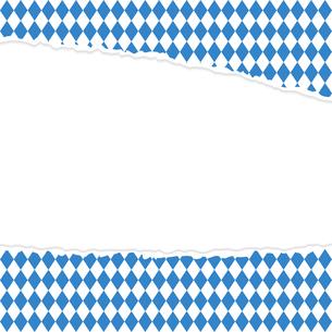 ripped open paper german oktoberfestの写真素材 [FYI00687406]