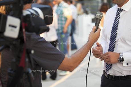 interviewの写真素材 [FYI00687431]