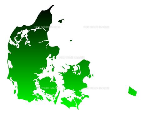 map of denmarkの写真素材 [FYI00687769]