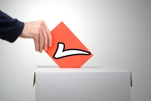 vote rightの素材 [FYI00688152]