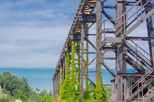 track riser,metalの写真素材 [FYI00688218]