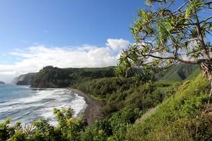 pololu valley overlookの写真素材 [FYI00688346]