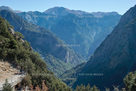 crete - samaria gorgeの写真素材 [FYI00688739]