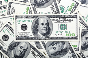 american dollars,a backgroundの写真素材 [FYI00688771]