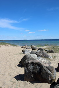 stones on the baltic beach southernの写真素材 [FYI00688872]