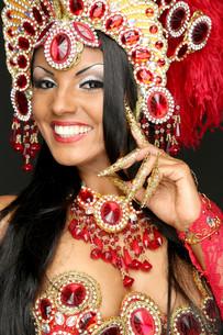 brazilian dancerの写真素材 [FYI00689280]