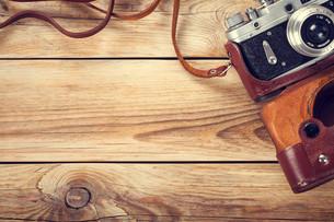 old cameraの写真素材 [FYI00689693]