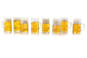 beer mugsの写真素材 [FYI00690680]