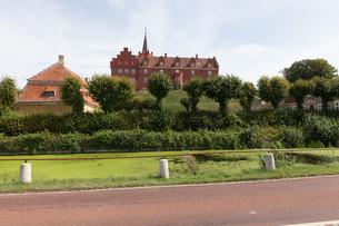 castle in tranek?rの写真素材 [FYI00691267]