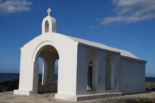 crete georgioupolis chapel agios nikolaos st. nicolasの素材 [FYI00691644]