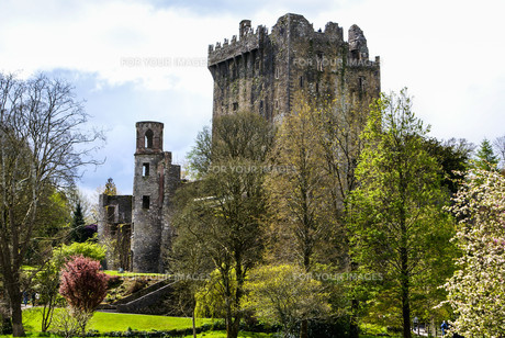 irish castle of blarney,famous for the stone of eloquence. irelandの写真素材 [FYI00692852]