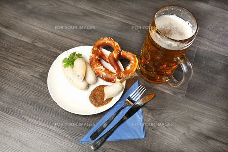 bavarian snackの写真素材 [FYI00694767]