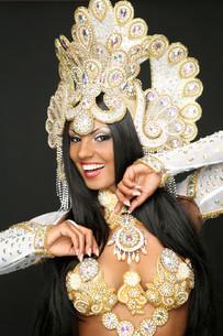 samba dancerの写真素材 [FYI00694774]