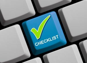checklist onlineの写真素材 [FYI00695429]