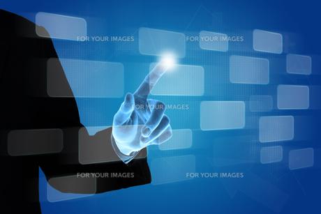 fingerの写真素材 [FYI00695606]