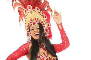 brazilian dancerの写真素材 [FYI00695657]