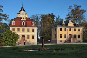 castle belvedere weimarの写真素材 [FYI00696479]