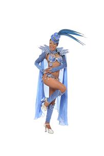 brazilian samba dancerの写真素材 [FYI00696766]