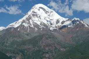 summit of kazbek,caucasus,georgia,europeの写真素材 [FYI00696786]