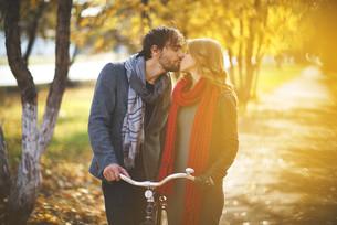 autumn romanceの写真素材 [FYI00696822]