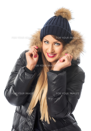 woman in winter clothesの写真素材 [FYI00696942]