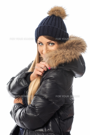 woman in winter clothesの写真素材 [FYI00696944]