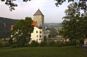 castle prunnの写真素材 [FYI00697023]