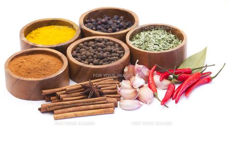 ingredients_spicesの写真素材 [FYI00697186]