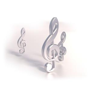 three clefの写真素材 [FYI00697579]