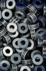 industrial gearsの写真素材 [FYI00697903]